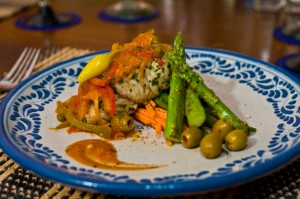 Red Snapper with Olives